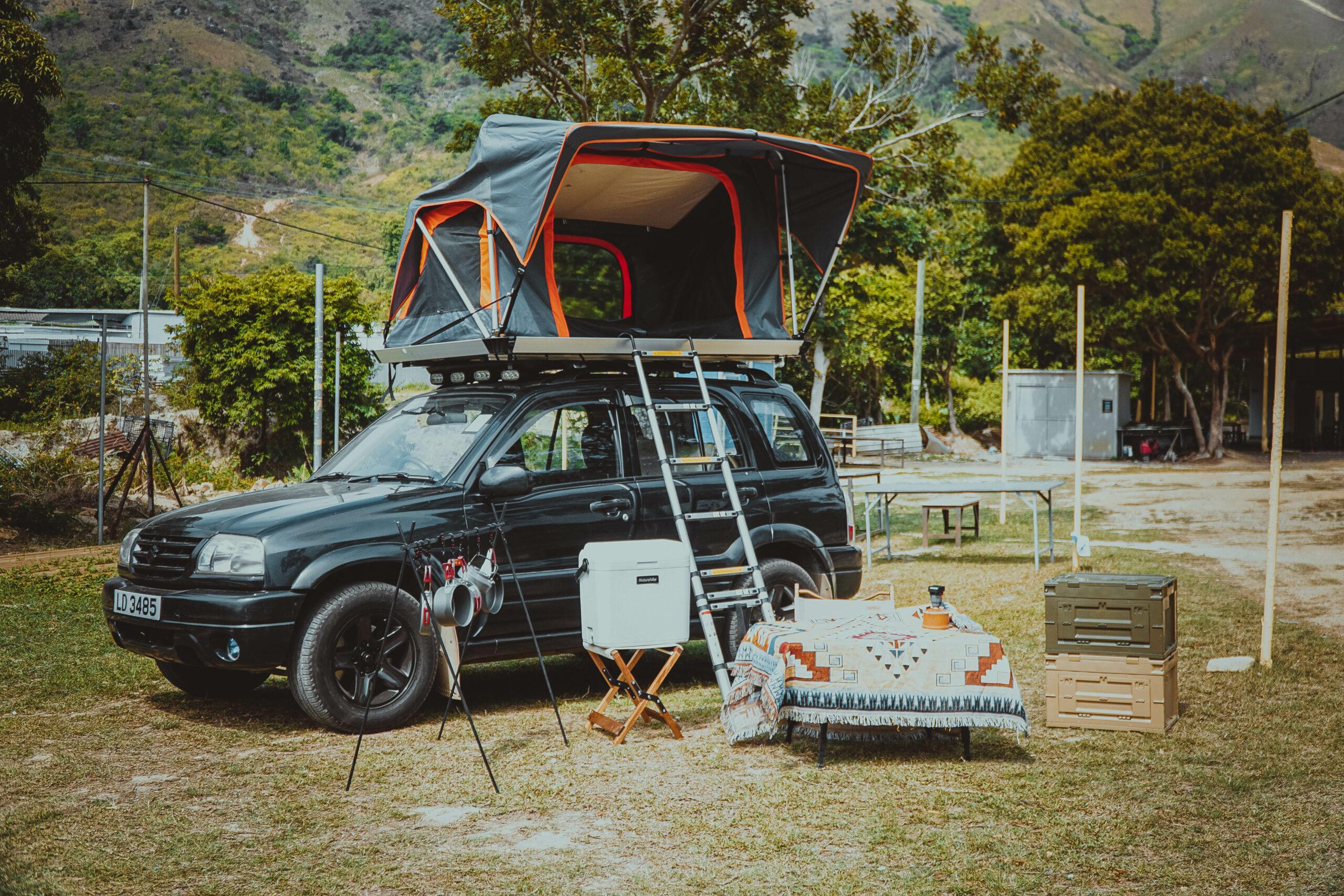 A Zone 專屬汽⾞露營營區